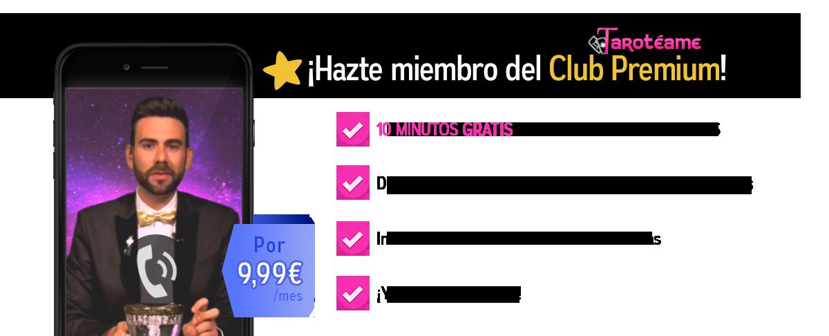 Registro del club premium