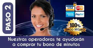 Paso 2 Pago Tarot Visa por Teléfono